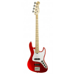 SADOWSKY MetroExpress 21-Fret Vintage J/J Bass, Maple, 4-String (Candy Apple Red Metallic)