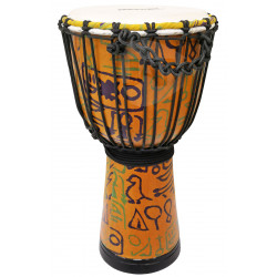 MAXTONE ADJ50B Abstract Cloth Djembe 10""
