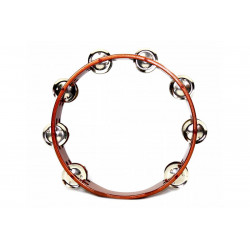 PALM PERCUSSION Tambourine 10""