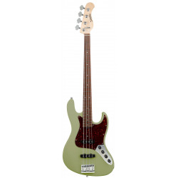 SADOWSKY MetroLine 21-Fret Vintage J/J Bass, Alder, 4-String (Solid Sage Green Metallic Satin)