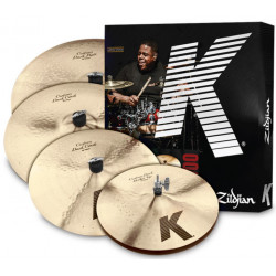 ZILDJIAN K CUSTOM DARK BOX SET 5 PC