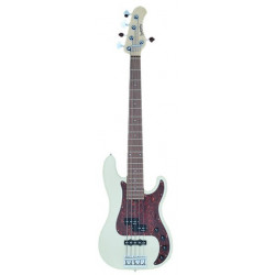 SADOWSKY MetroLine 21-Fret Hybrid P/J Bass, Alder, 5-String (Solid Olympic White High Polish)