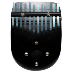 PALM PERCUSSION KALIMBA CURVE SHAPE BLACK