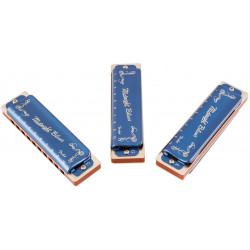 FENDER HARMONICA MIDNIGHT BLUES 3-PACK WITH CASE2121
